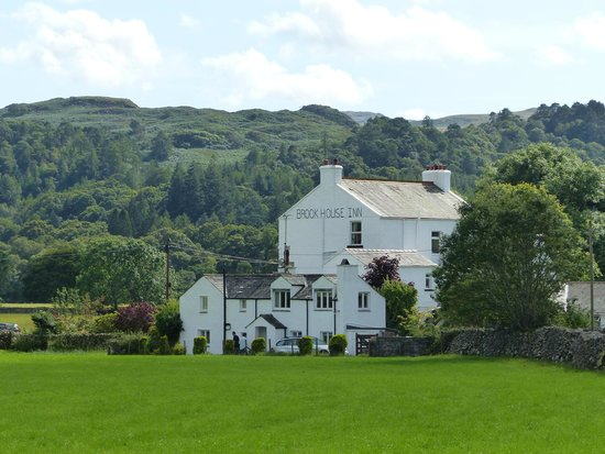 Brook House Inn and Restaurant: from the Eskdale rail station