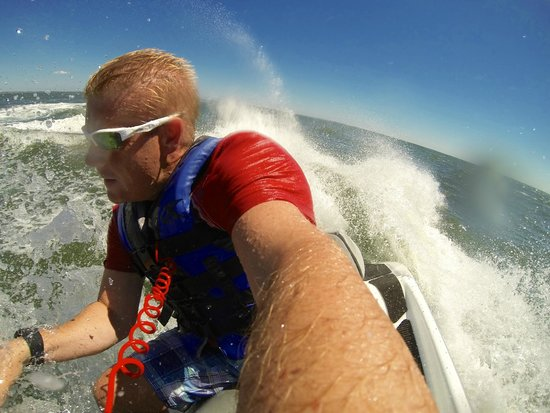 Gold Coast Parasailing & Jet Ski: Me on the jet ski