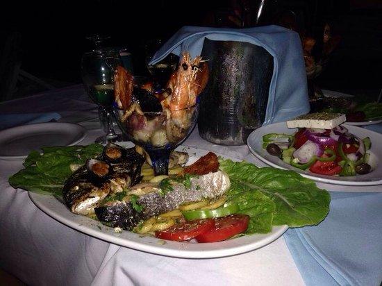 Alex's Restaurant : Misto di mare