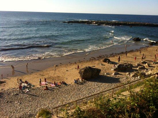 Tinas de Pechón: playa de pechon