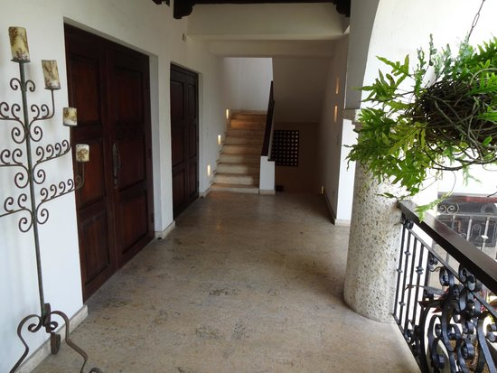 San Pedro Hotel Spa: En frente a la habiracion