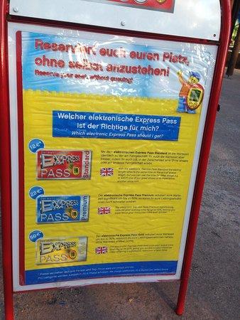 Legoland Germany: Useless express pass