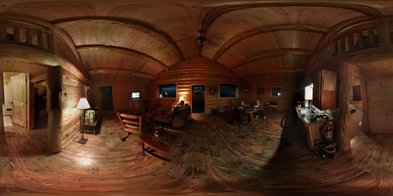 Cowboy's Lodge: Interior Panorama