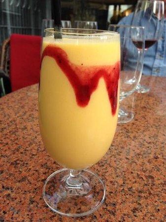 Kajjal: mango lassi