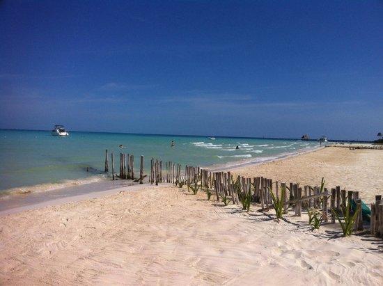 Playa Norte : La spiaggia le prime ore del giorno