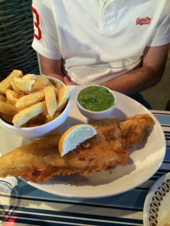 The Coddy Shack: Best haddock and chips ever