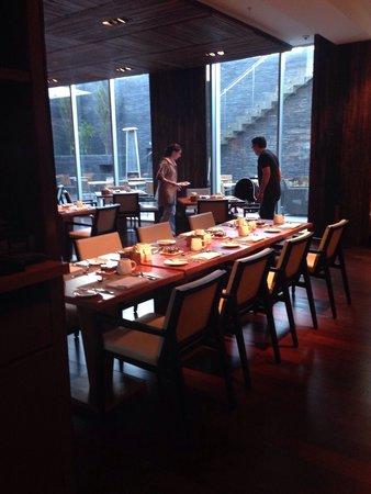 Renaissance Santiago Hotel: Café da manha