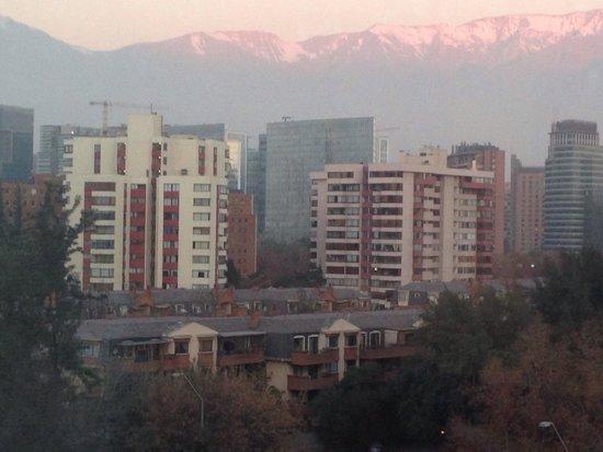 Renaissance Santiago Hotel: Vista do 8 andar