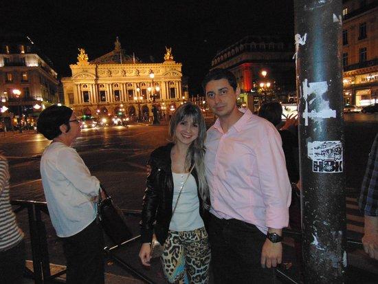 Opéra Garnier : Opera de Garnier a noite