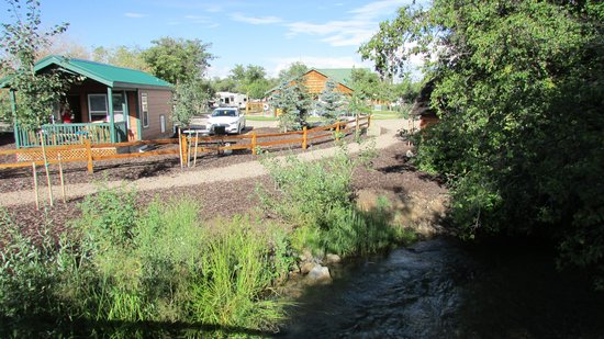 Montpelier Creek KOA: the fishing stream