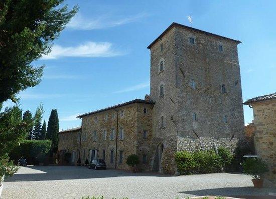 Borgo Scopeto Relais: Main hotel building