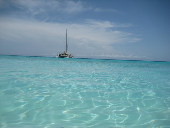 is it clear enough? picture of klein (little) curacao, curacaoklein (little) curacao is it clear enough?