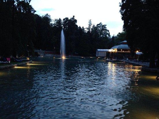 Parco Termale del Garda: Di sera