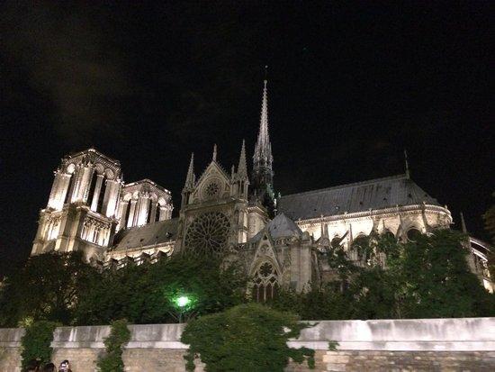 Bateaux Parisiens : Notre Dame desde el Sena