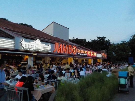 Jumbo Seafood : Outside view