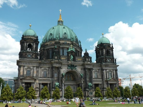 Berliner Dom: The cathedral