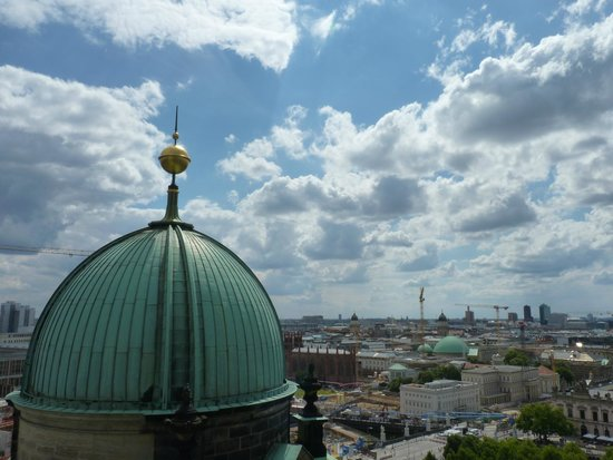 Berliner Dom: view when you are on the top