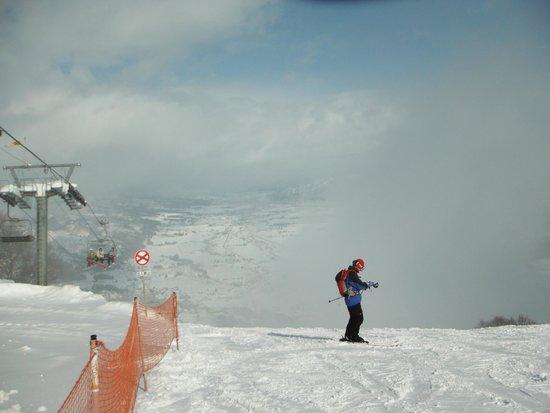 Ishiuchi Maruyama Ski Resort : 石打丸山スキー場(山頂ゲレンデ)
