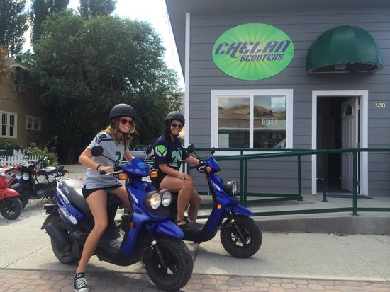 Chelan Scooters: Starting our journey!