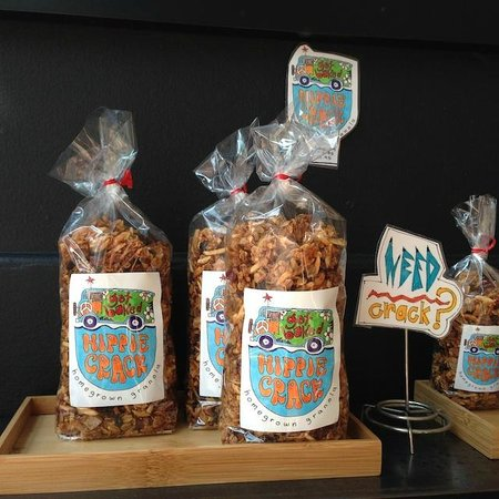 Baked and Wired: Hippie Crack granola