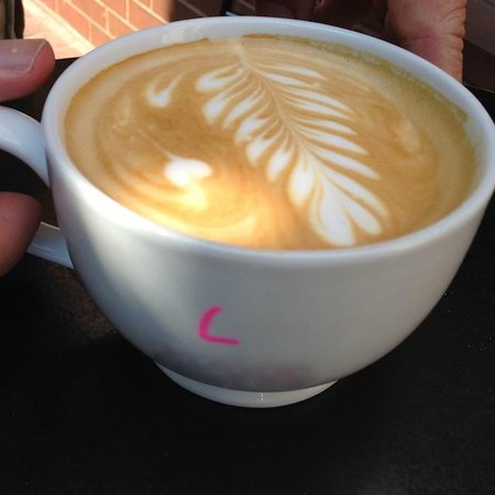 Baked and Wired: Latte made with love