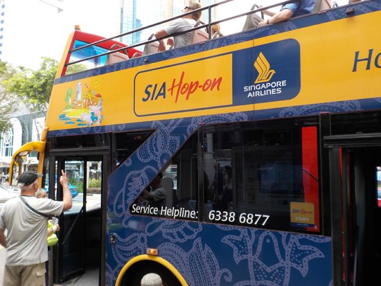 SIA Hop-on: View of bus