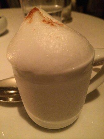 The French Laundry: Frozen Cappucino Dessert