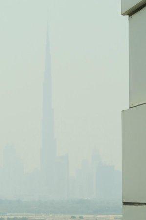 Grand Hyatt Dubai: Burj Tower View from Hotel
