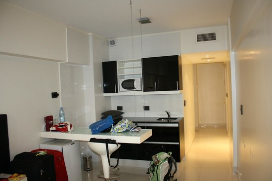 Cyan Recoleta Hotel: Angolo cottura