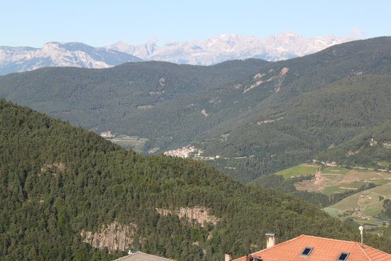 Hotel Tirol: Dal balcone