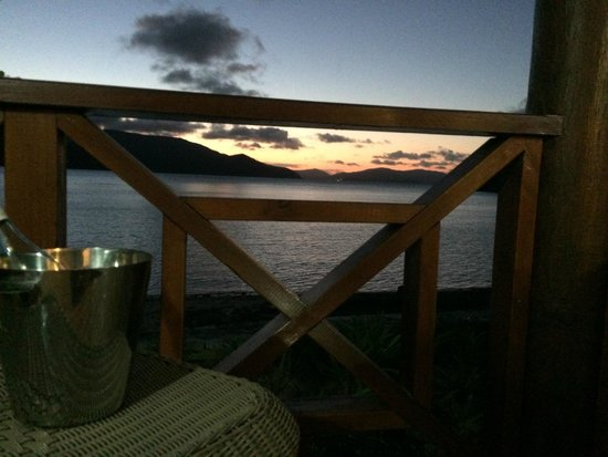 Palm Bay Resort Whitsundays: View from the hammock on the deck
