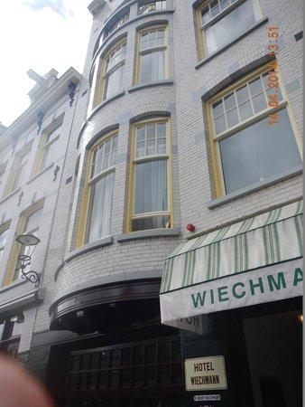 Amsterdam Wiechmann Hotel: Fachada do Hotel