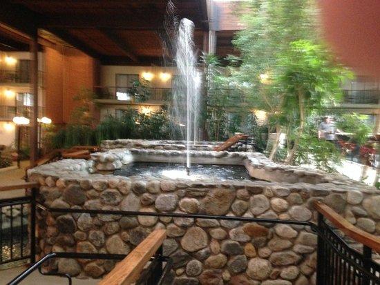Boxboro Regency Hotel & Conference Center: Water Fountain