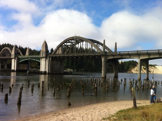 Siuslaw River Bridge : A great view