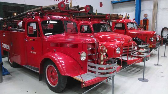 Danish Museum of Science and Technology: More firetrucks