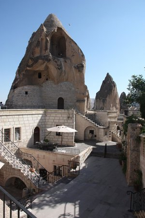 Cappadocia Cave Suites: view from 301