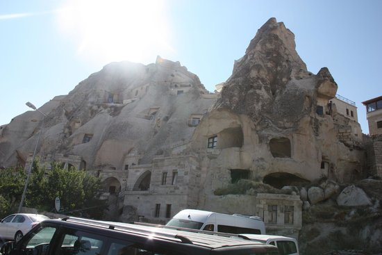 Cappadocia Cave Suites: View from room 301