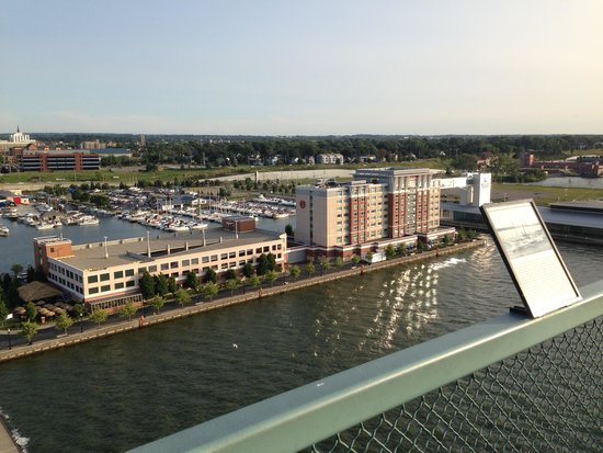 Sheraton Erie Bayfront Hotel: View from the Bicentennial Tower