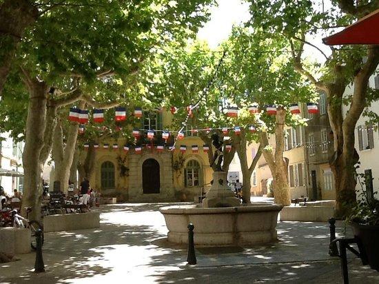 La Bastide du Pin : town of Collobrieres