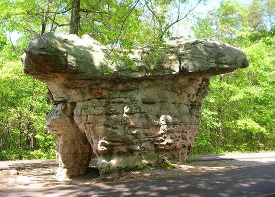 Orbix Hot Glass: Mushroom Rock near Orbix Glass
