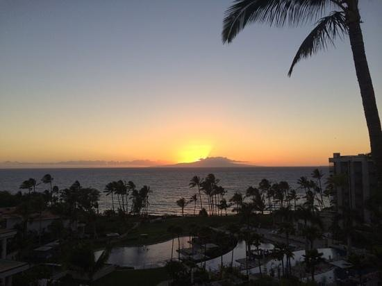 Andaz Maui At Wailea: Sunset from the room