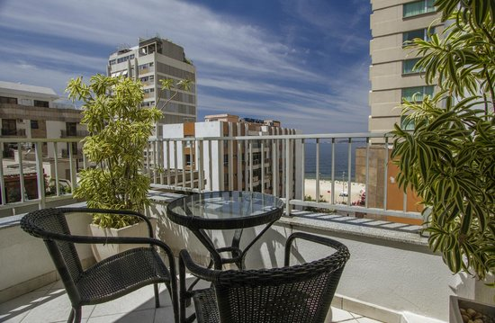 Ipanema Inn: Duplex Suite's private terrace