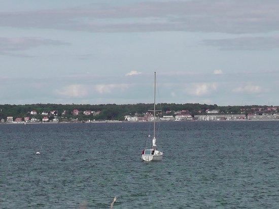 Sweden seen from Kronborg castle