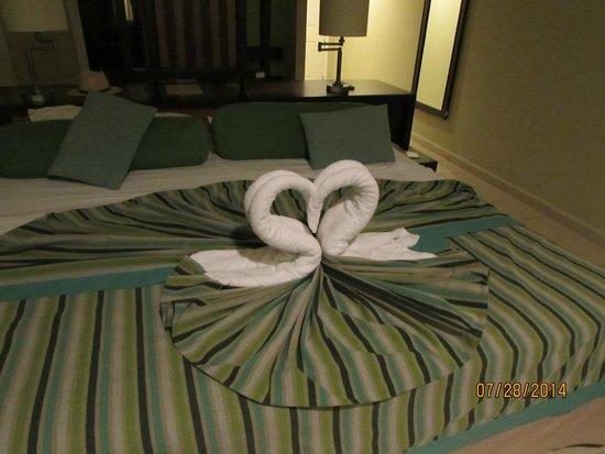 Hotel Playa Cayo Santa Maria : arreglo habitaciones