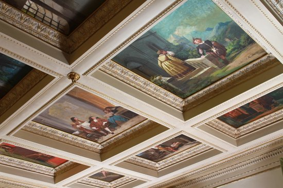 Hotel dei Macchiaioli: Dining Room Ceiling