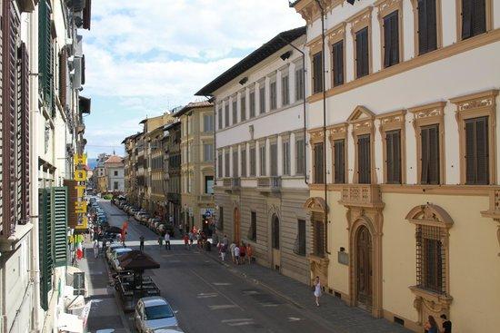 Hotel dei Macchiaioli: View from the dining room verandah