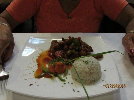 Hotel Playa Cayo Santa Maria : restaurante asático