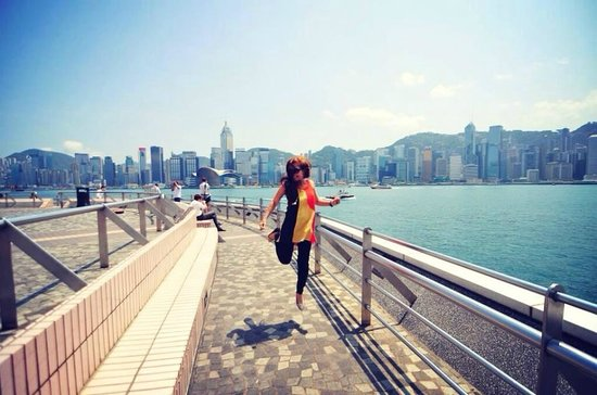 Jump for joy in Victoria Harbour