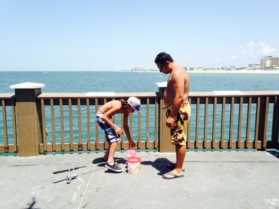 Clearwater Beach: Fishing at Clearwater