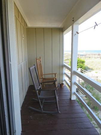 Sea Ranch Motel: Oceanfront balcony
